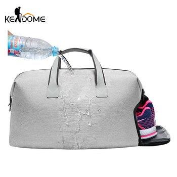 Водонепроницаемый плеча Спортивные сумки Для женщин Зал Йоги Мешок с хранения обуви женские Фитнес сумки Для мужчин обучение дорожные сумк...