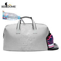 Waterproof Shoulder Sport Bags Women Gym Yoga Bag With Shoes Storage Female Fitness Handbag Men's Training Travel Bags XA699WD