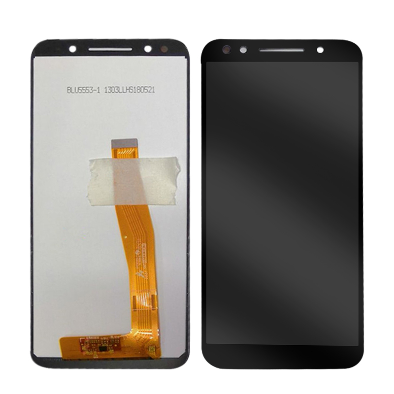 5.5'' 100% Tested For Alcatel 3 5052 5052D 5052Y Full LCD DIsplay Assembly Replacement Parts Black & White