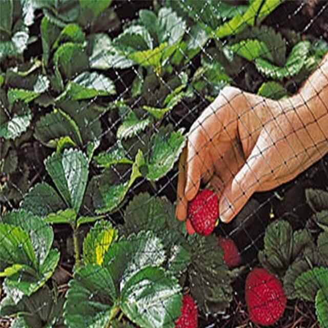 Bird Net Polyethylene Anti Netting Pond Crops Fruit Tree Vegetables Protection Flower Garden Mesh Protect Gardening