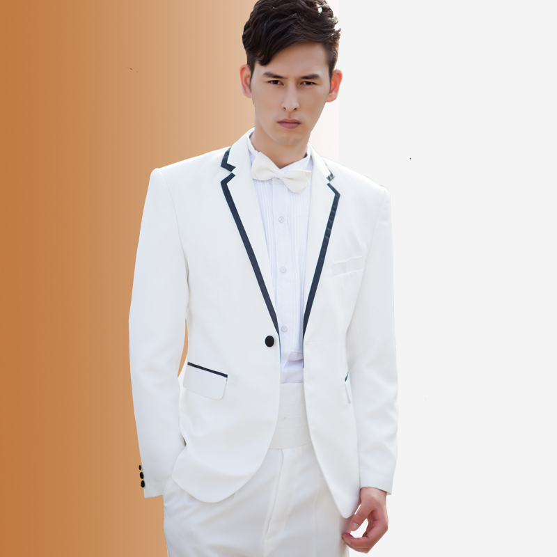 Online Get Cheap Mens Groom Formal Suit White -Aliexpress.com ...