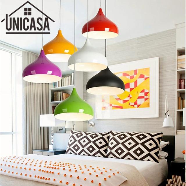 Colors Pendant Lights Kitchen Island Lamps Modern Ceiling Lamp