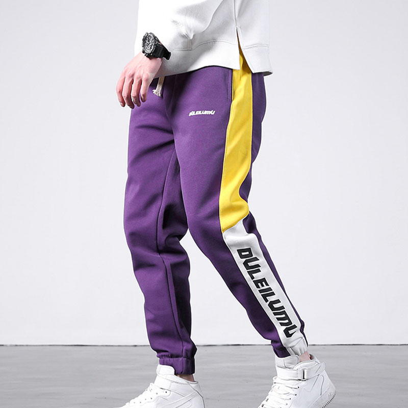 2018 Joggeurs Hip Hop Casual Piste Pantalon De Mode Streetwear Pencil Pants-in Skinny Pants from Men's Clothing