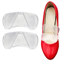 2pcs/pair Feet Orthotics Protect Gel Forefoot Silicone Shoe Pad Insoles High Heel Flat Comfy Feet Care Pads Shoe Accessories