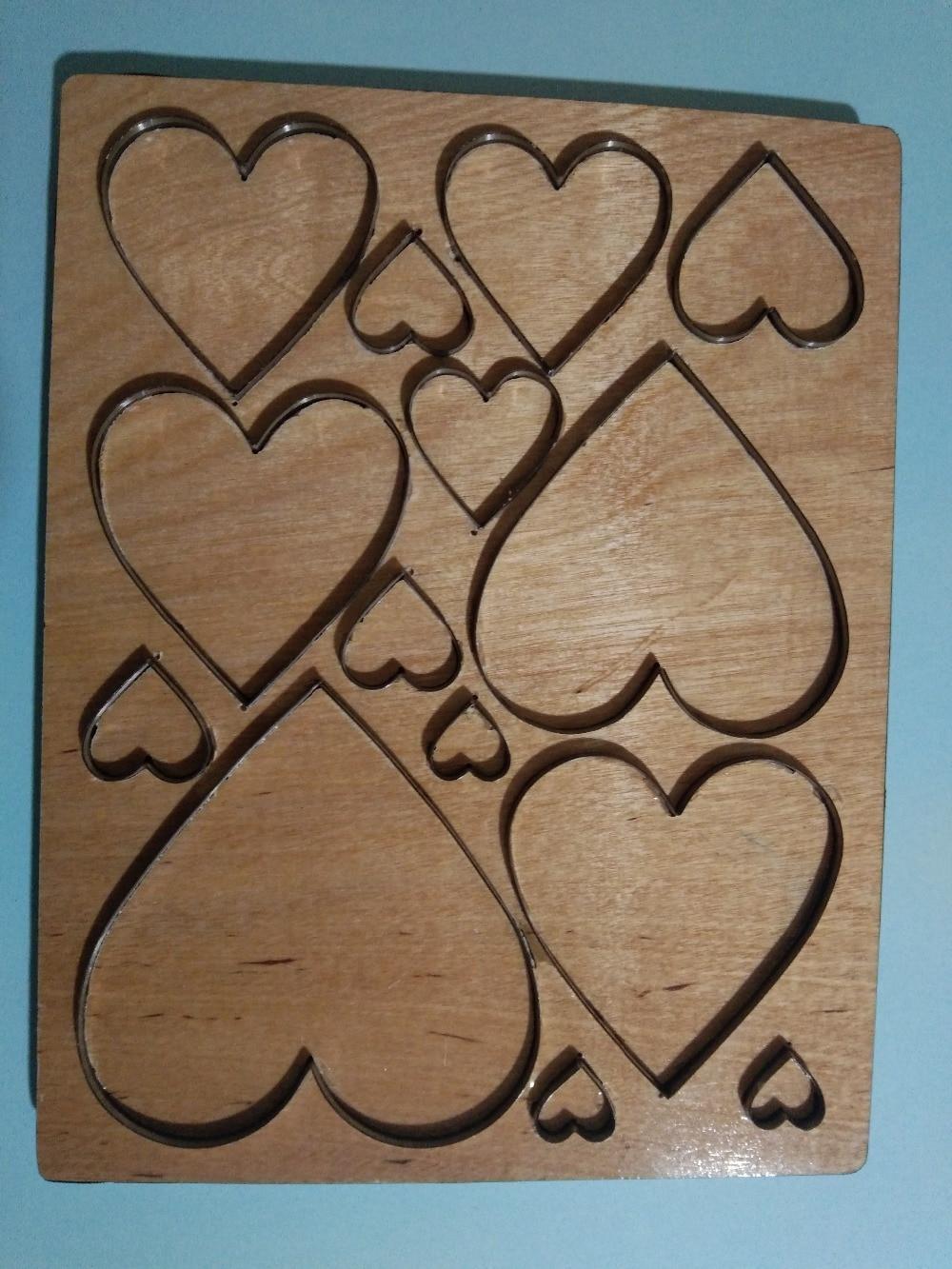 Love wood mold는 대부분의 주요 기계와 호환됩니다. 금형 두께: 15.8mm-에서절단 다이스부터 홈 & 가든 의  그룹 3