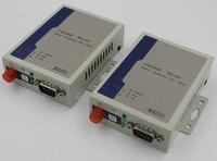 Jyttek RS232 Data Optical Extenders Transmitter Receiver FC Singlemode fiber optic 20Km