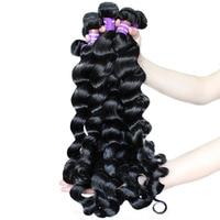 Loose Wave Bundles Brazilian Hair Weave Bundles 100% Virgin Human Hair Bundle Extension Natural Hair Black Color Comingbuy