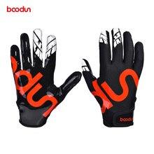 Boodun 1 пара бейсбольные перчатки подающего противоскользящего софтбола спортивные перчатки профессиональные бейсбольные гетры перчатки Экипировка Мужские t для мужчин Wome