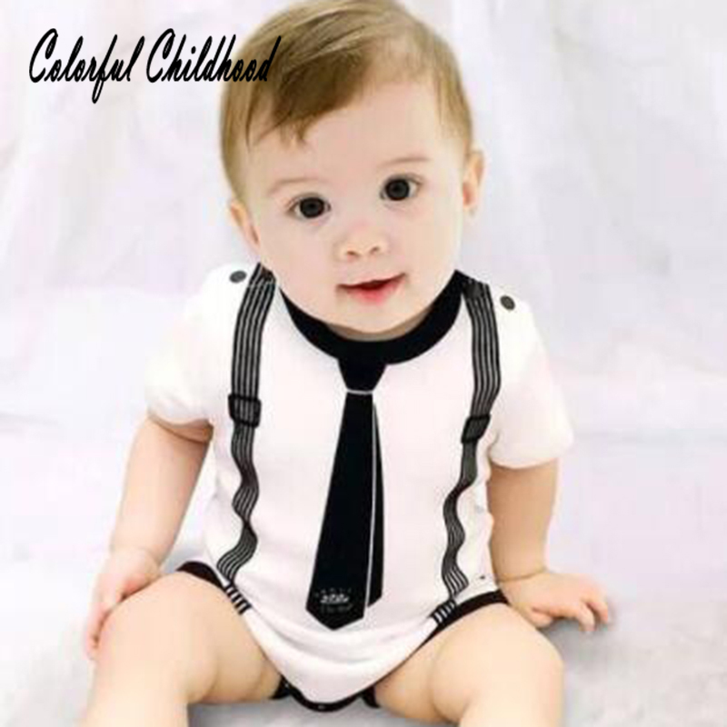 Mother & Kids Bodysuits & One-pieces Hearty Cute Black Moms Little Boy Romper Toddler Baby Boys Cotton Long Sleeve Rompers Jumpsuit Outfits One Piece Clothes Summer Spring