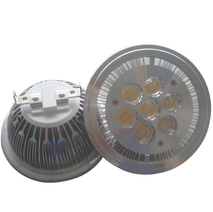 LED G53 GU10 E27 14W QR111 AR111 led işıqfor 1120lm = 100W halogen - LED işıqlandırma - Fotoqrafiya 5