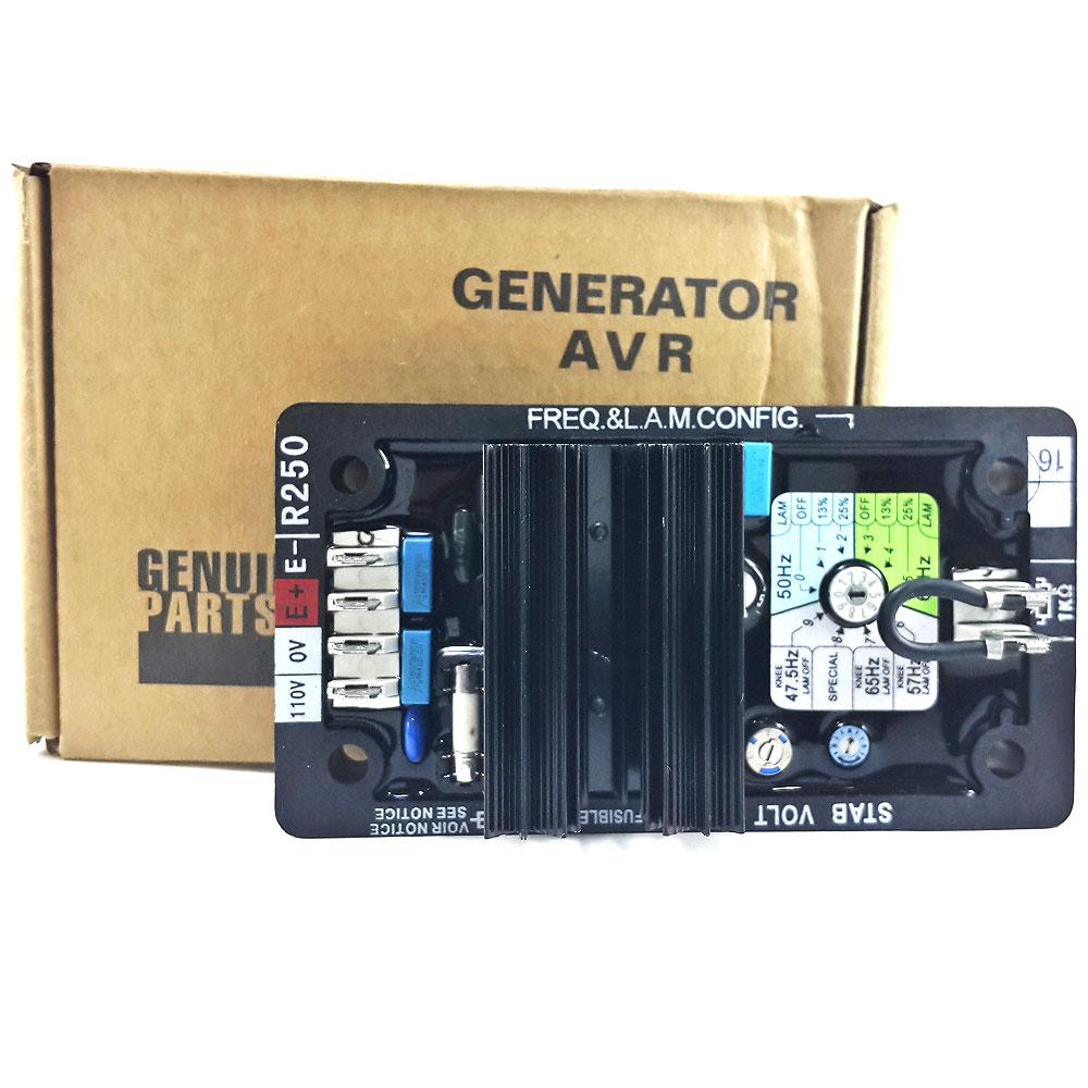 5pcs R250 generator avr R250 brushless alternator avr high quality avr r250 for leroysomer generator