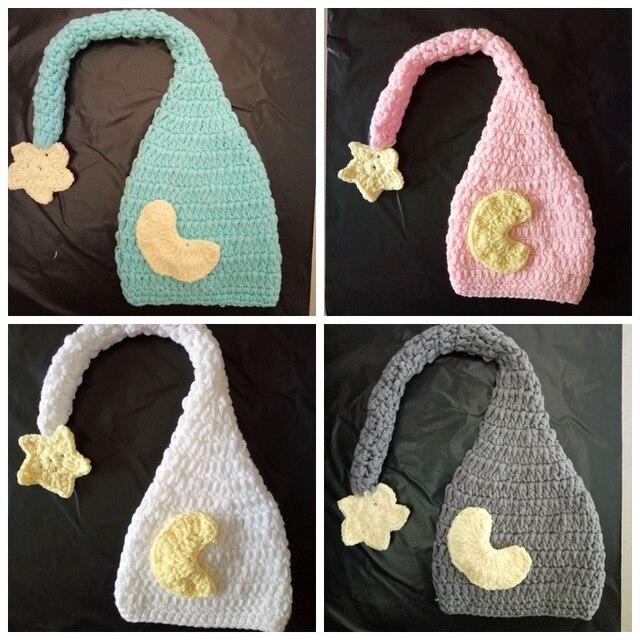 57c2f1dea97 Crochet baby Elf Hat