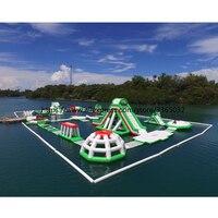 Надувной открытый аквапарк производитель плавающий аквапарк Приключения водные виды спорта для взрослых