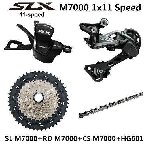 <font><b>SHIMANO</b></font> DEORE <font><b>SLX</b></font> <font><b>M7000</b></font> <font><b>Groupset</b></font> MTB Mountain Bike <font><b>M7000</b></font> <font><b>Groupset</b></font> 11-Speed 40T 42T 46T <font><b>M7000</b></font> Rear Derailleur Shift Lever image