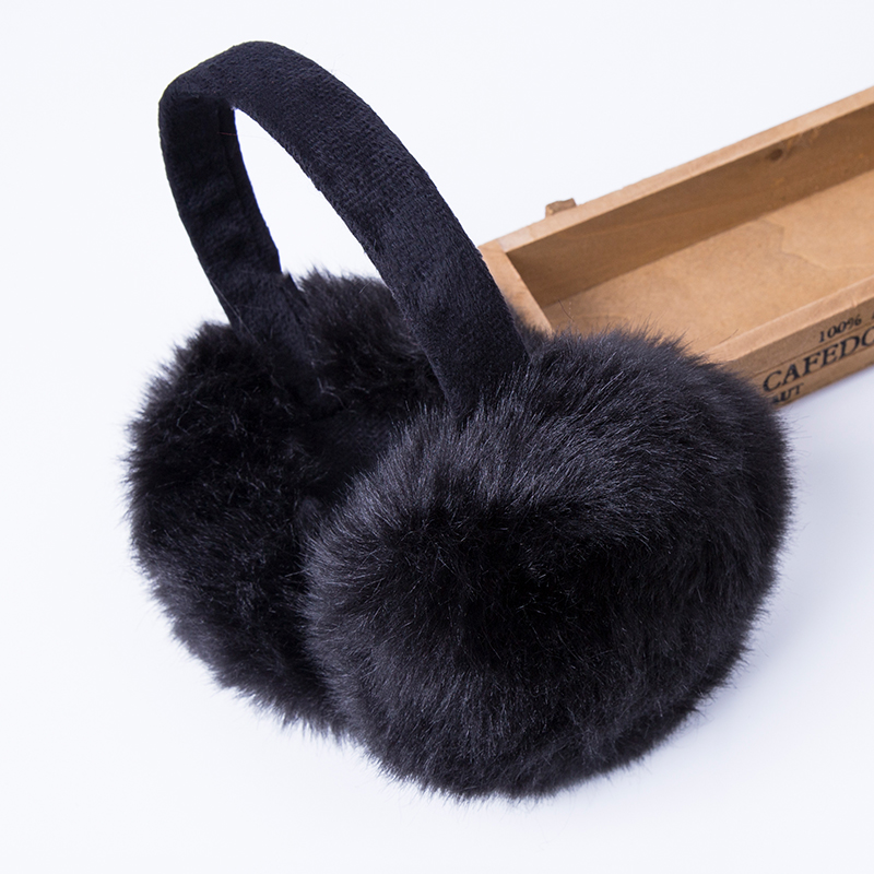 fashion rabbit fur women earmuffs for brand winter. Black Bedroom Furniture Sets. Home Design Ideas