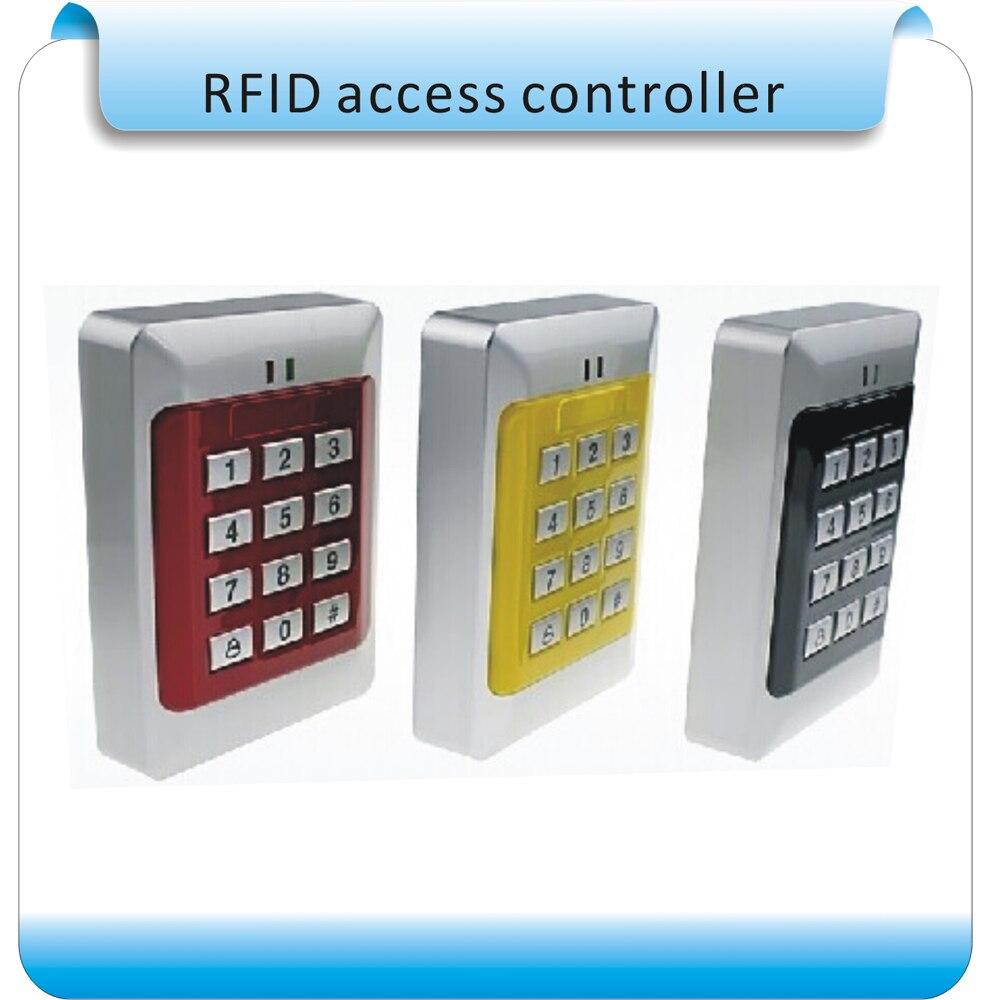 Freies Verschiffen Neueste Sy-209 Em 125 Khz Rfid Zutrittskontrollsystem 10 Stücke Keyfobs Weich Und Leicht Zugangskontrolle Tastatur Dc 12 V