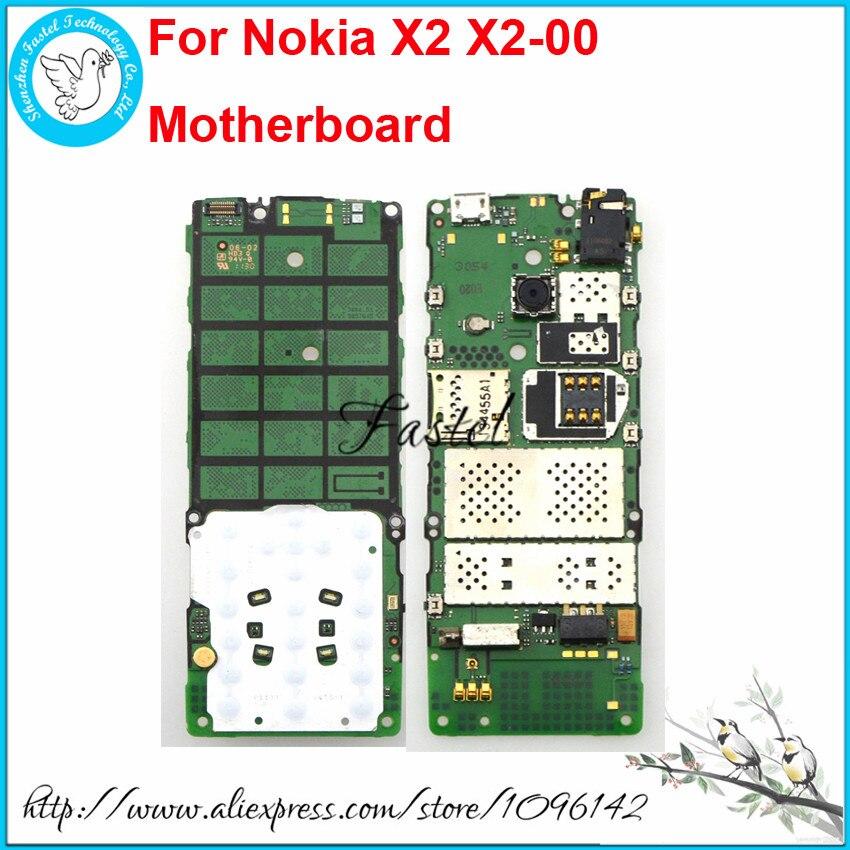 Nokia X2 X2 00 Unlocked Orijinal Cep telefon cep Telefonu anakart Devreler ana mantık kurulu İngilizce Veya Rusça dil Cep telefonu yuvası    - AliExpress
