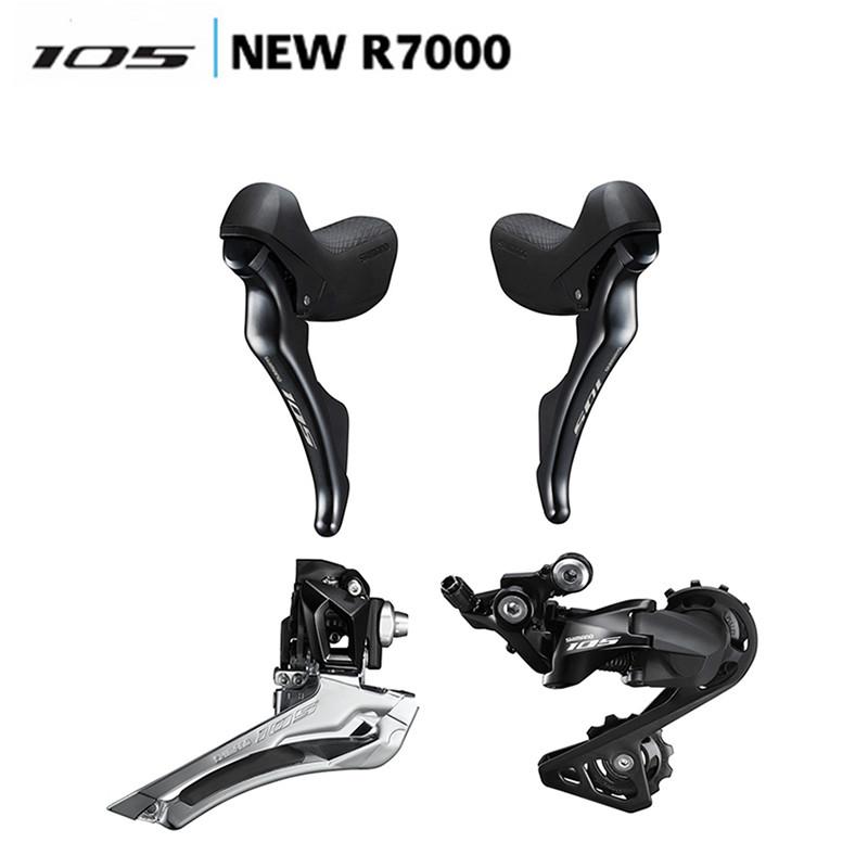 SHIMANO 105 R7000 Groupset R7000 Derailleurs ROAD Bicycle Front Derailleur Rear Derailleur Shifter Switch update from