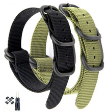 New For Suunto Core  Nylon Diver Watch Strap Band Kit Lugs  5-ring PDV Clasp 24mm Zulu Watchbands + Adapters + Tools hot sale fashion nato long suunto core nylon strap band kit w lugs adapters 24mm zulu watchbands nylon smart bracelet for men