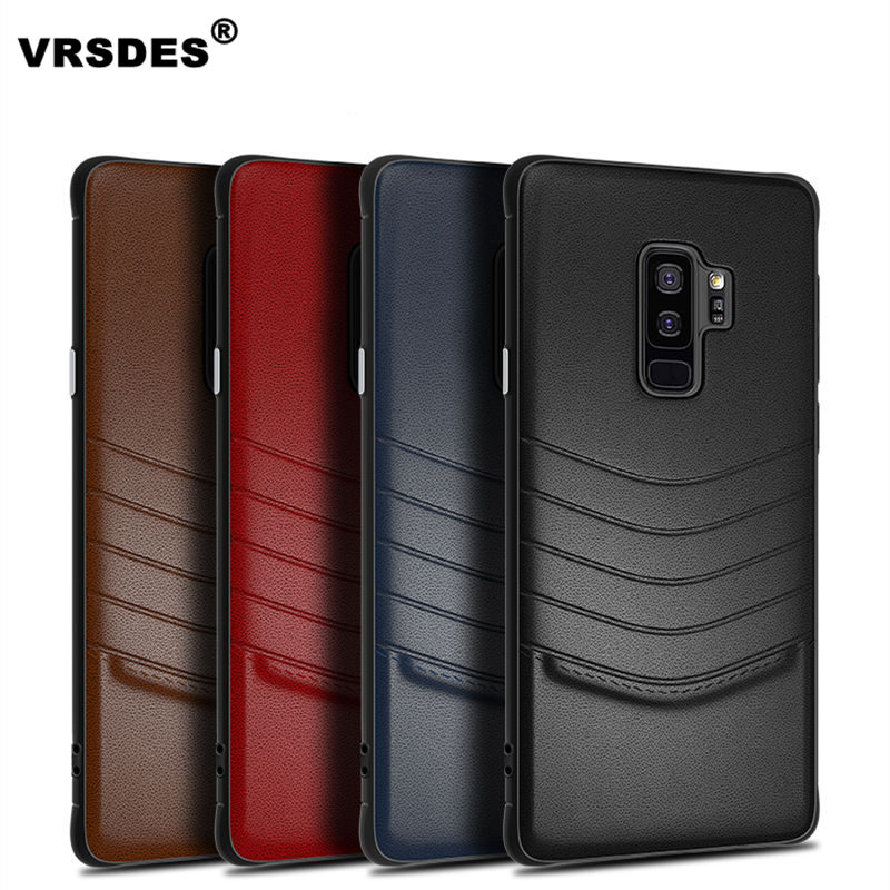 Business case for Samsung S9 S9plus Note9 case Luxury PU Leather Phone Cases For Samsung Galaxy