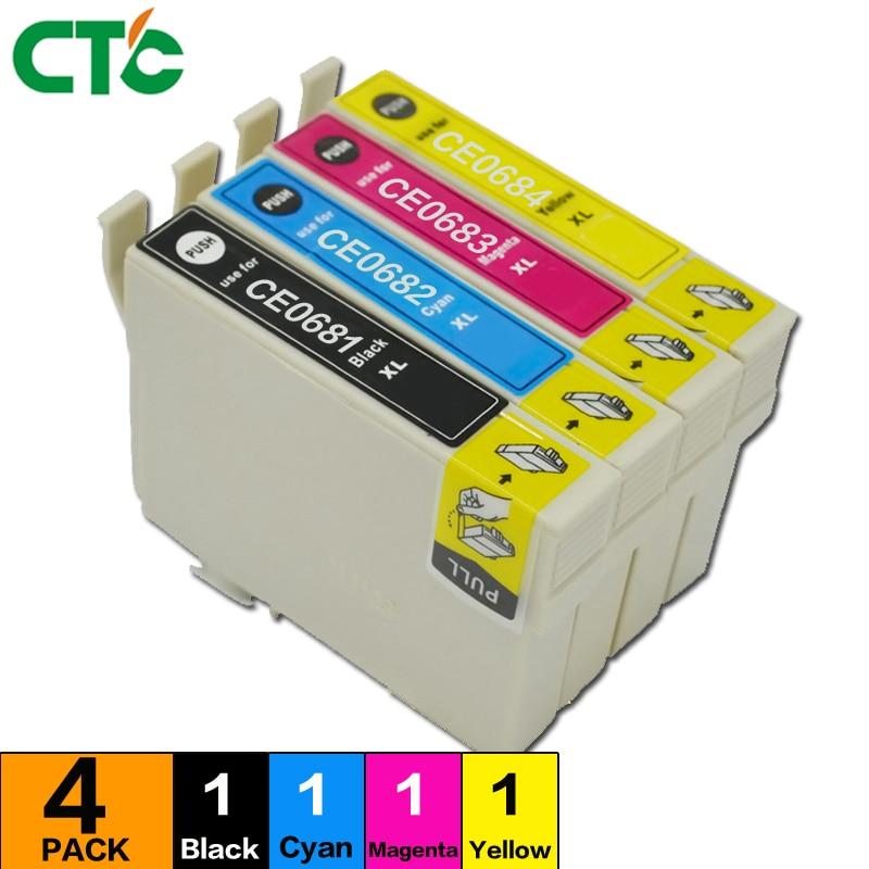 Compatible 68 XL ink cartridge for WorkForce 30 40 310 315 500 600 610 615 1100 NX215 NX300 NX305 CX5000 CX6000 Printer