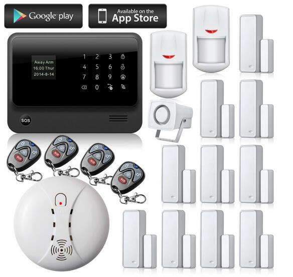 Yobang Sicherheit GPRS SMS Alarms Gsm Casa Drahtlose GSM Home - Schutz und Sicherheit - Foto 2