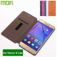 Flip Case For Huawei Honor 8 Lite PRA LX1 PRA LA1 PRA TL10 Phone Case Leather