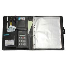 مكتب القرطاسية متعددة الوظائف A4 عقد توقيع مجلد ملفات التفاوض المبيعات carpetas المعكرونة esola