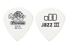 Dunlop Tortex Jazz III White Guitar Pick