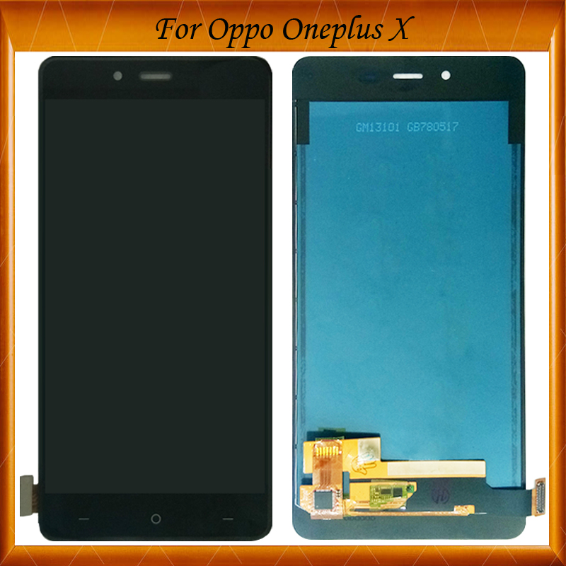 5.0For Oneplus X Oled LCD Display Touch Screen 100% New Digitizer Glass Panel For Oneplus X E1003 Replacement5.0For Oneplus X Oled LCD Display Touch Screen 100% New Digitizer Glass Panel For Oneplus X E1003 Replacement