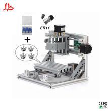 ЧПУ 1610 мини ЧПУ лазерная гравировка машины 3 оси печатных плат фрезерные Маршрутизатор с GRBL Управление