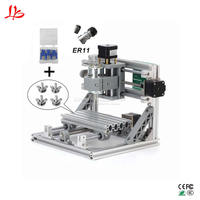 CNC 1610 Mini CNC Laser engraving Machine 3 Axis PCB Milling router with GRBL Control