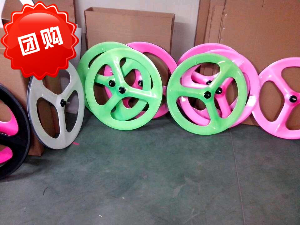free shipping carbon 3 spoke 700C wheel road 3 spoke wheel Cycling Track 3spoke wheel carbon 3 spoke carbon wheel free shipping carbon fiber wheel road disc wheel bicycle cycling track wheel 700c disc wheel