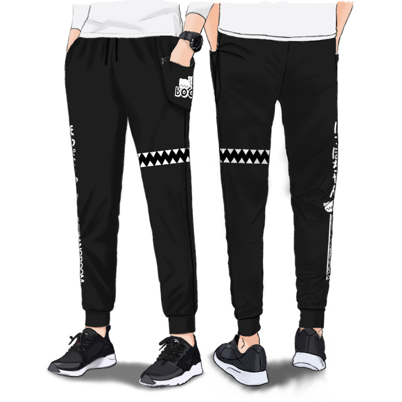 Adult Unisex Game Collection Cotton Pencil Sweat Pants Costumes For Woman Man Plus Size