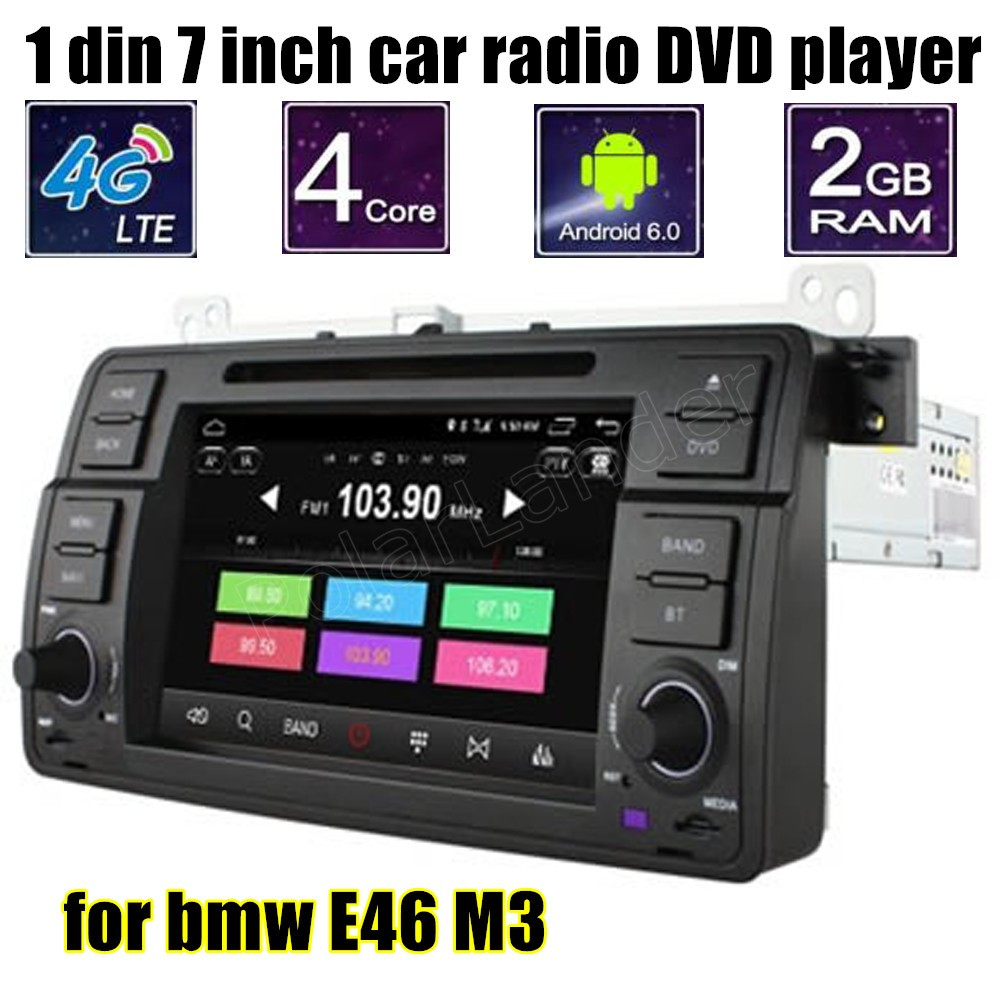 android 6 0 car dvd player gps navigation radio stereo. Black Bedroom Furniture Sets. Home Design Ideas