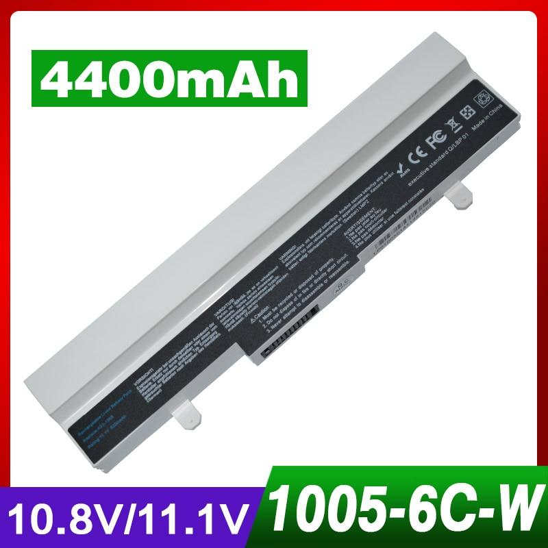 11.1v/10.8v 4400mAh laptop battery for Asus 1001PX Eee PC 1001 1005 1101 PL32-1005 AL31-1005 AL32-1005 ML32-1005 90-OA001B9000