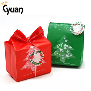 Image 2 - 20pcs Christmas Gift Bags Package Bag Xmas Gift Decor Christmas Tree Candy Gift Bag Navidad Christmas Decorations for Home