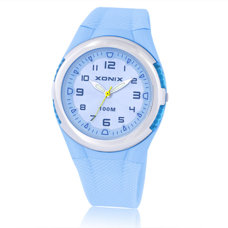 Hot!!! TOP Fashion Women Dress Watches Waterproof 100m Ladies Jelly Quartz LED