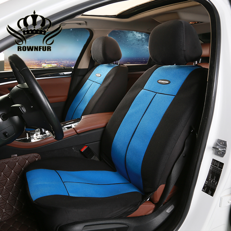 rownfur universal car seat cover fit most cars automobiles car seat covers protector for kia. Black Bedroom Furniture Sets. Home Design Ideas