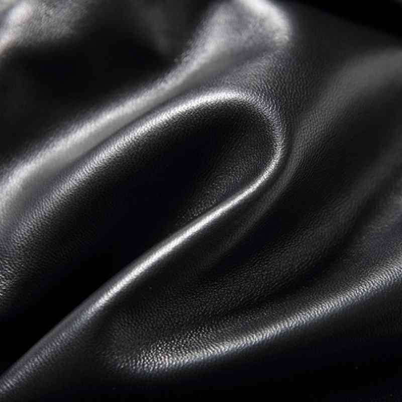 2019 New Fashion Dames Sexy Zwart Lederen Schapenvacht Shorts Lace Up Slanke Hoge Kwaliteit Vrouwelijke Straight Shorts Rokken 3XL - 5