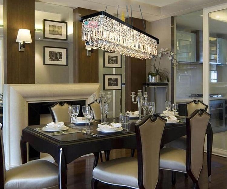 tienda online cristal rectangular lmpara moderna minimalista restaurante comedor mesa de un bar de la lmpara sala de estar c aliexpress mvil with lamparas