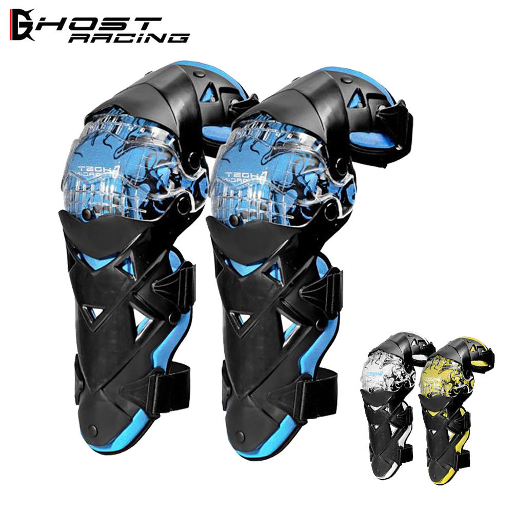 Double Layer Motorcycle Knee Protector Motocross Skiing Skateboard Knee Guard Sports Knee Pad Motorbike Ridng Racing