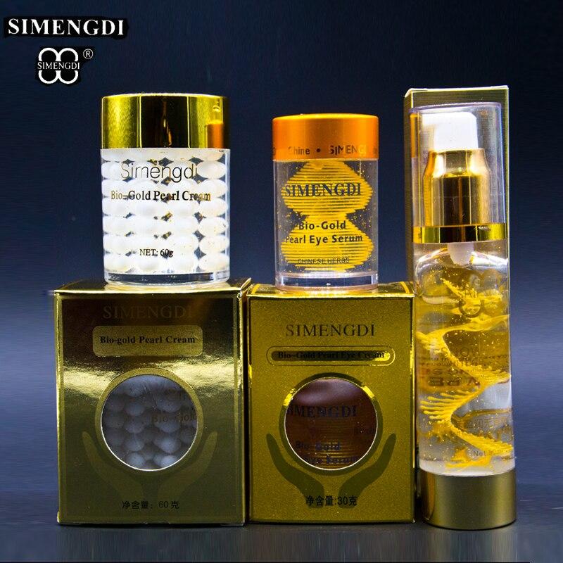 Famous Brand SIMENGDI Bio gold pearl cream Bio gold Pearl eye Cream 50ml Pearl Essence Peptide