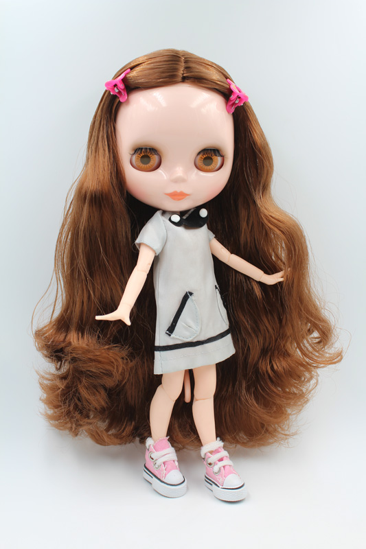 Free Shipping Top discount JOINT DIY Nude Blyth Doll item NO. 202J Doll limited gift special price cheap offer toy USA for girl free shipping big discount rbl 11 15 diy nude blyth doll birthday gift for girl 4 colour big eyes with beautiful hair cute toy