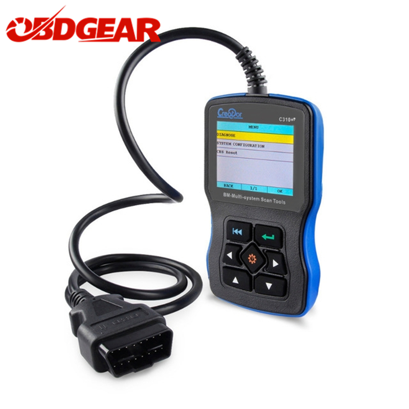 2018 Car Diagnostic Scanner For BMW Creator C310+ Pro V7.0 With Airbag/ ABS/ SRS OBD2 Scanner For BMW e60 x5 e90 e60 Code Reader цены онлайн
