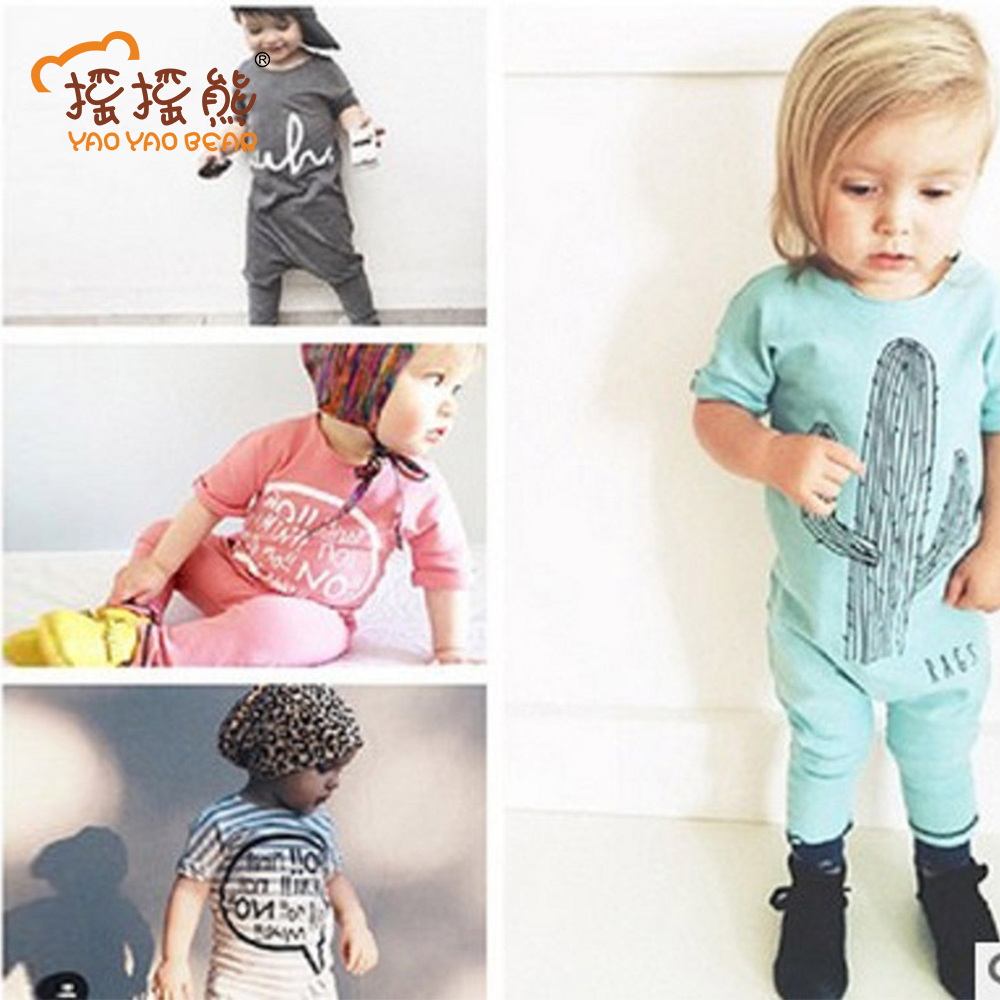 Baby Rompers 2018 Children Jumpsuits Baby Girl Boy Pajamas Jumpers Rompers Playsuit Outfits Clothes 0-24M Rompers Autumn