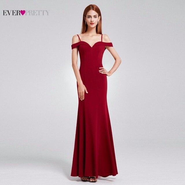 Prom Dresses Sexy V-neck Women s 2018 Elegant Autumn Winter Sleeveless Long  Prom Evening Party Dresses Ever Pretty EP07017 7a3c41971