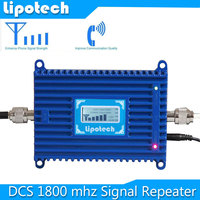 Free Shipping LCD Display DCS Cell Phone Signal Booster GSM 1800 Mhz Mobile Phone Signal Repeater