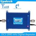 Frete grátis! LTE 4G 1800 MHz 70db DCS Repetidor de Sinal Amplificador Booster de Sinal de Telefone Celular Inteligente com LCD exibição