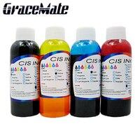 4*100ml DIY ink use for cake Edible ink bottle For HP InkJet Printer 400ml Food Ink